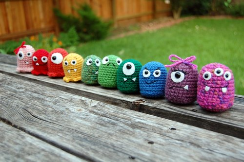 Baby Monster Crochet Amigurumi