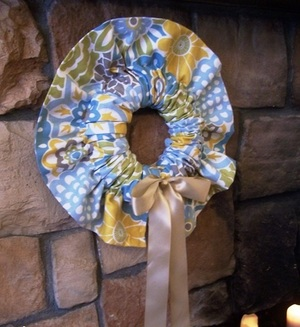 Slipcover Wreath Pattern