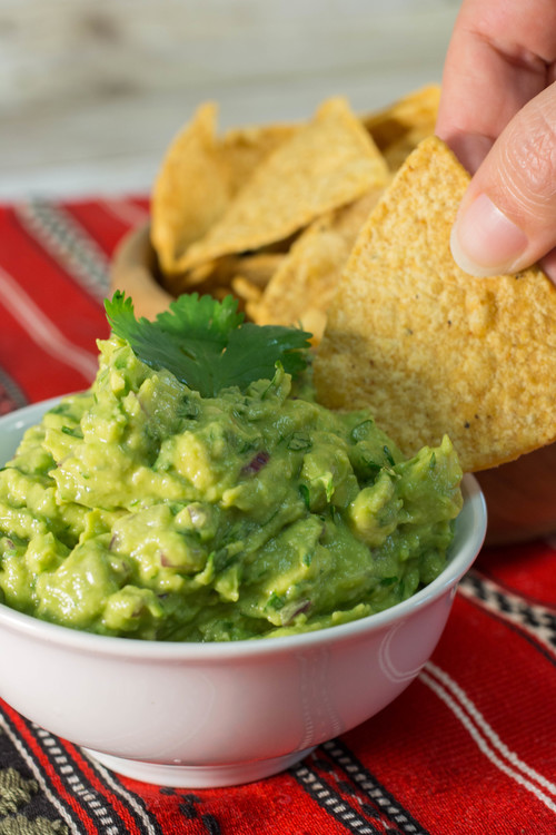 Just Like Chipotle Guacamole