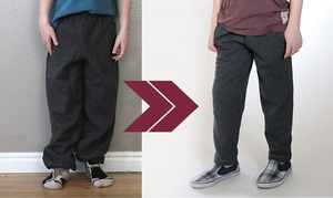 How to Alter Sweatpants Tutorial