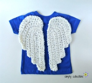 Crochet Angel Wings