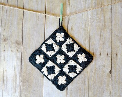 Vintage Inspired Crochet Pot Holder