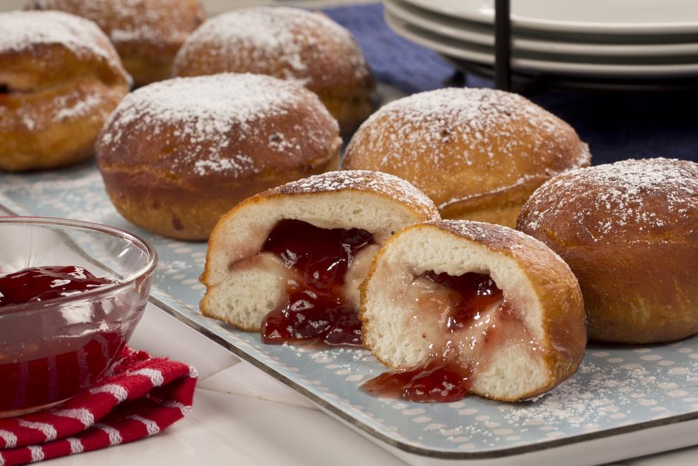 Jelly Donuts   MrFood.com