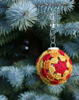 Crochet Ornament Cover