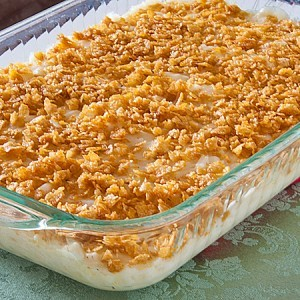 Creamy Cheesy Potato Casserole