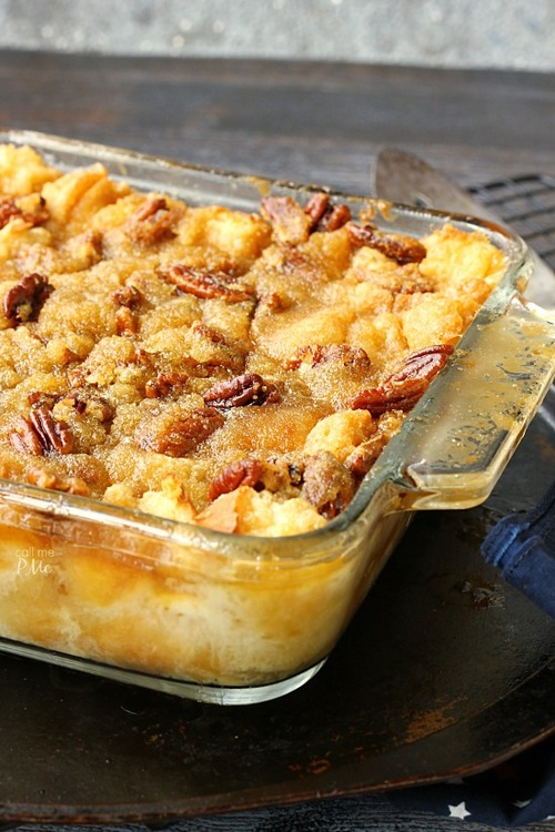 Best-Ever Pecan Pie Bread Pudding