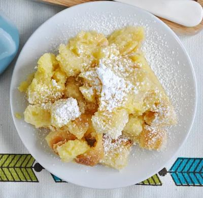 Lemon Chess Bread Pudding
