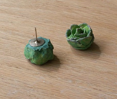 Gorgeous Green Succulent DIY Earrings