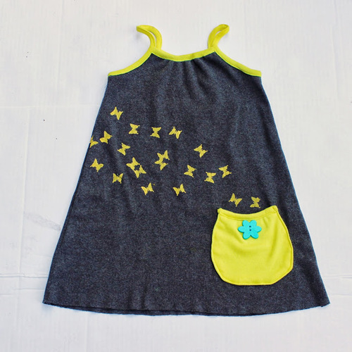 Pocketful of Butterflies Dress