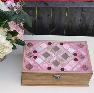 Mosaic Diy Jewelry Box Allfreejewelrymaking Com