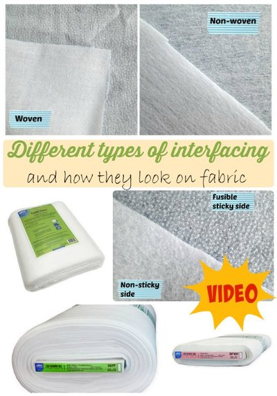 Different Types of Interfacing