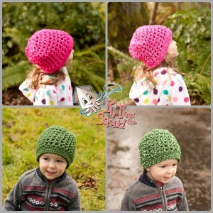 Reflective Thread Crochet Beanie Pattern
