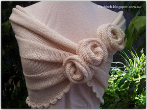 Summer Rose Shawl
