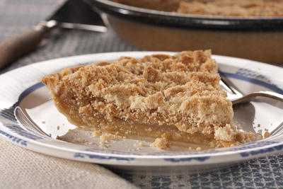 Amish Vanilla Crumb Pie