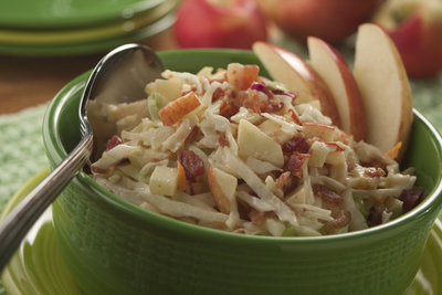 Apple-Bacon-Coleslaw
