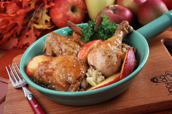 Apple Glazed Chicken