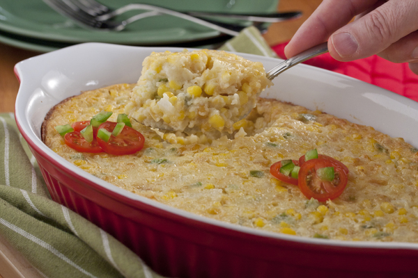 Plantation Corn Pudding