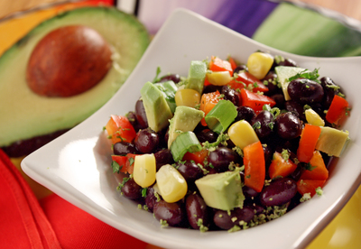 Avocado Bean and Corn Salsa