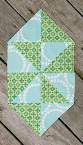 Candy Pinwheel Quilt Blocks