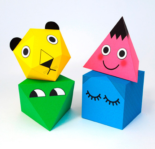 Printable 3-D Friends