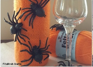 Creepy Crawly Wine Cozy