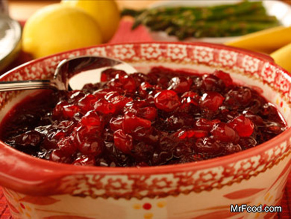 Baked Cranberry Sauce