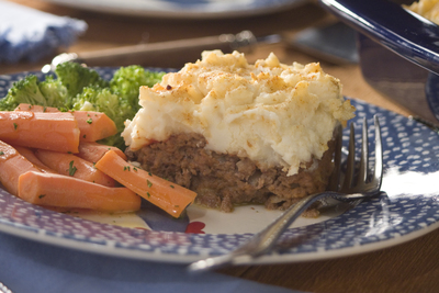 Country Meatloaf and Potato Casserole