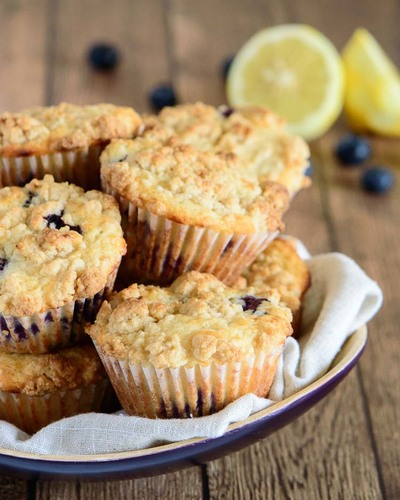 Magical Lemon Blueberry Muffins