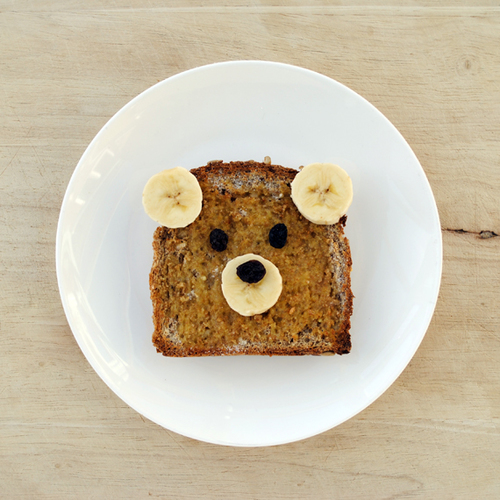 Cinnamon Teddy Bear Toast