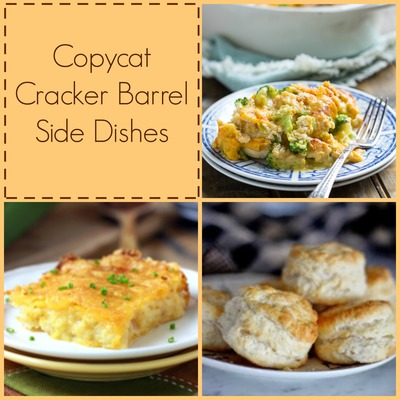 19 Cracker Barrel Side Dish Recipes