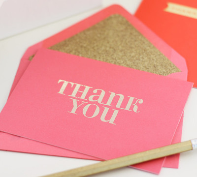 Gold Foil DIY Greeting Cards