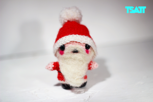 Amigurumi Christmas crocheted ornaments (Set of 4) Santa Claus ... | 200x300