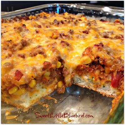 Easy Cheesy Taco Bake