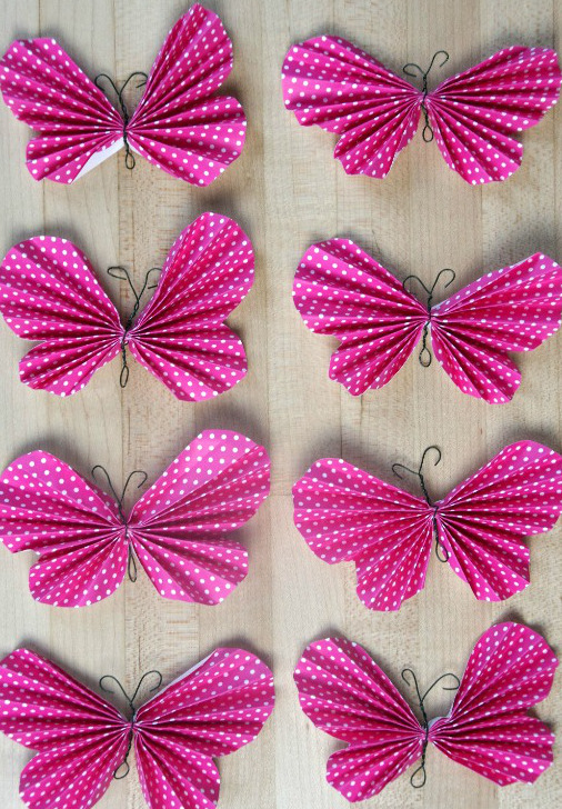 Easy Peasy Paper Butterflies
