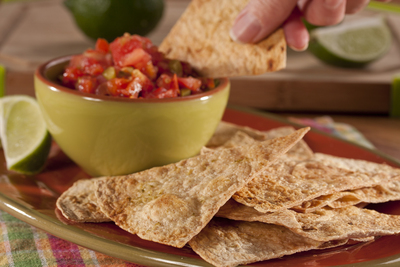 EDR Tortilla Lime Chips