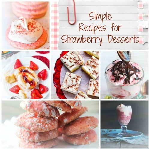 15 Simple Recipes for Strawberry Desserts