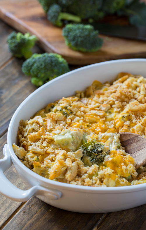 Cheesy Chicken Divan Casserole