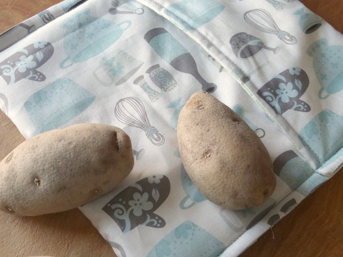 How To Sew A Microwave Potato Bag Allfreesewing Com