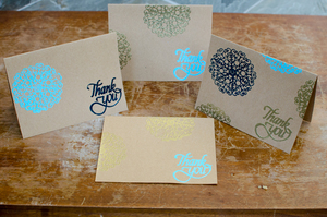 Easy Embossed Greeting Cards