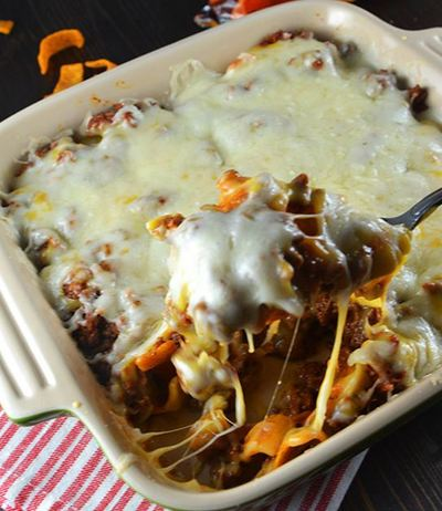 Chili Cheese Taco Bake