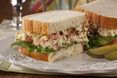 BLT Egg Salad Sandwich