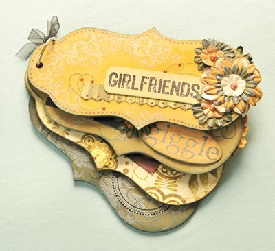 Girlfriends Mini Scrapbook