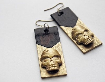 Fabulous Skull DIY Earrings