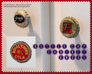 Bottle Cap Cabinet Knobs