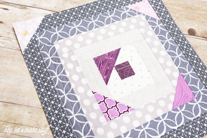 Scattered Geese Quilt-As-You-Go Tutorial
