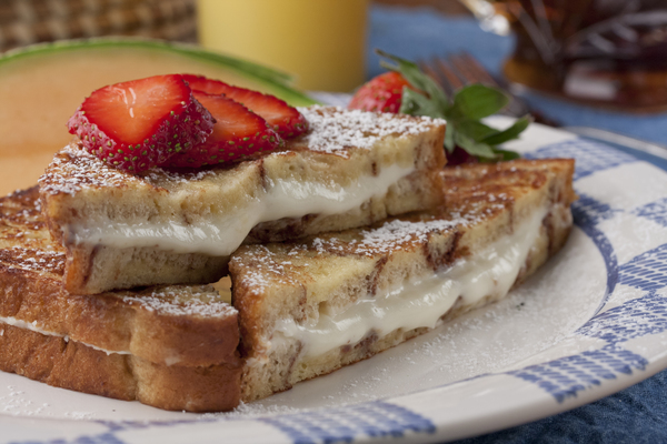 Disappearing Stuffed French Toast
