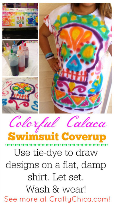 Tie Dye Swimsuit Coverup