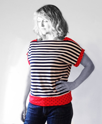 Nautical Contrast Tee