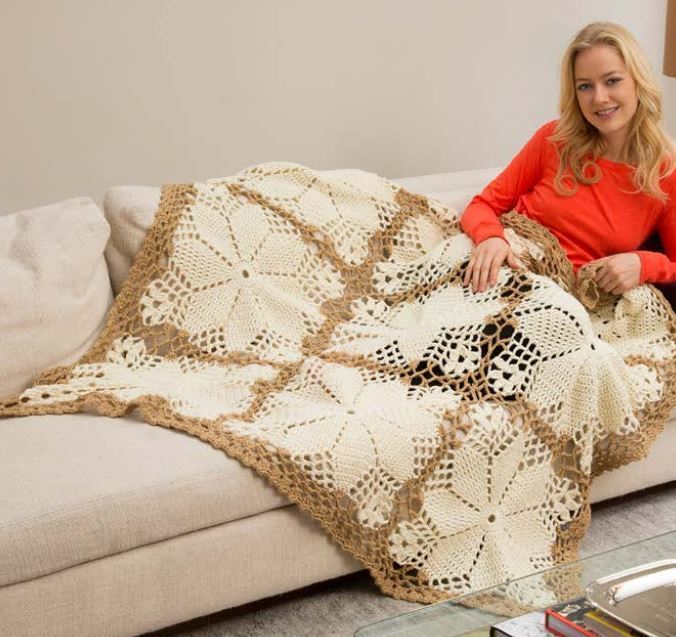 Crochet Wedding Gifts Patterns: Royal Wedding Crochet Blanket