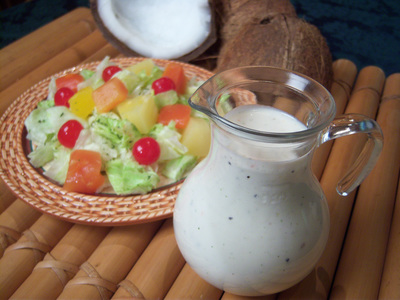 Coconut Cream Dressing